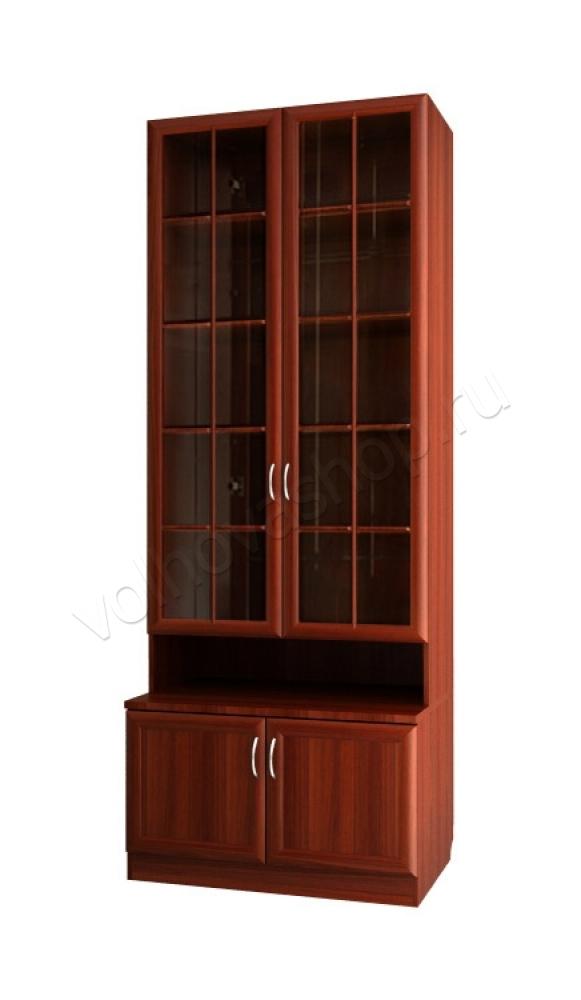 """Шкаф для книг с 461 м """" купить недорого """" шкафы книжные """"вол."""