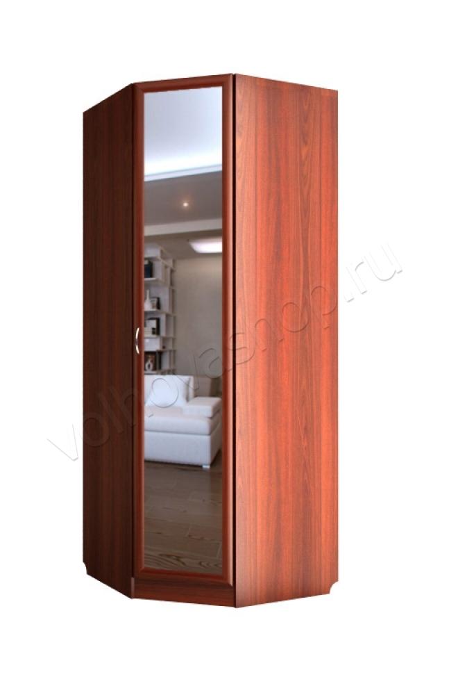 Шкаф угловой однодверный с зеркалом с 241/1 м валдай купить .