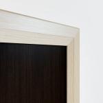 Рамка дуб молочный вставка дуб венге модульная мебель Береста